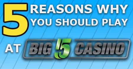 5 Alasan untuk bermain di Big5Casino Slot Review